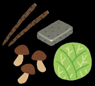 食物繊維を含む食べ物